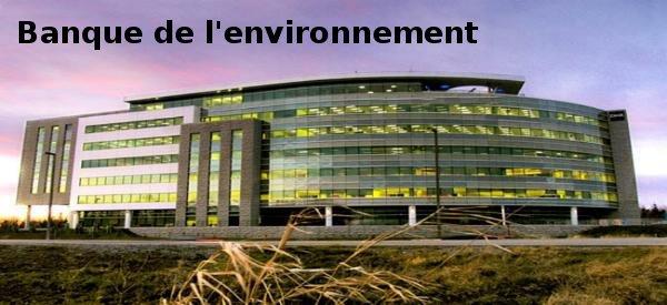 banque de l'environnement